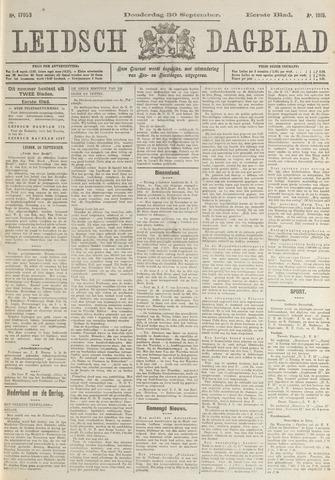 Leidsch Dagblad 1915-09-30