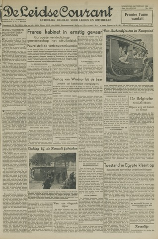 Leidse Courant 1952-02-14