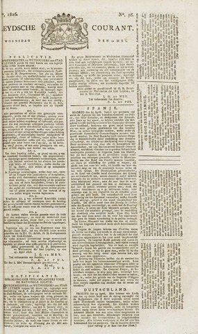 Leydse Courant 1826-05-10
