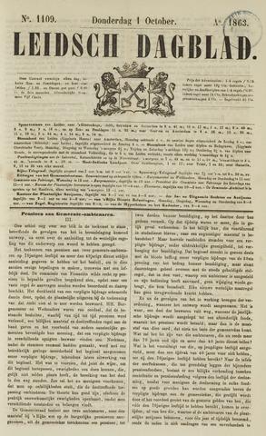 Leidsch Dagblad 1863-10-01