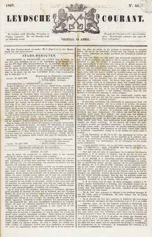 Leydse Courant 1869-04-16