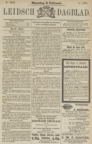 Leidsch Dagblad 1885-02-02