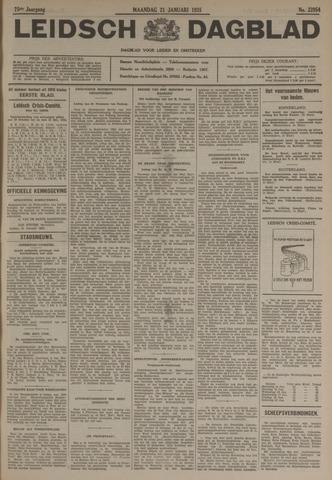 Leidsch Dagblad 1935-01-21