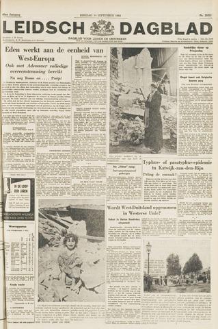 Leidsch Dagblad 1954-09-14