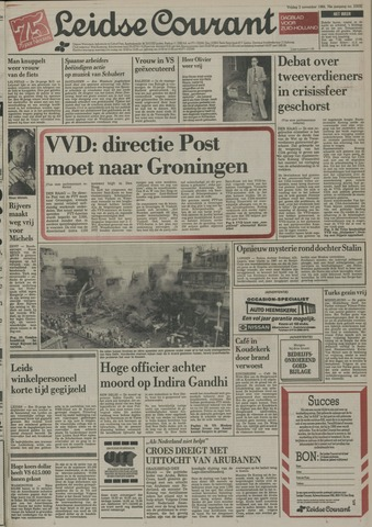 Leidse Courant 1984-11-02