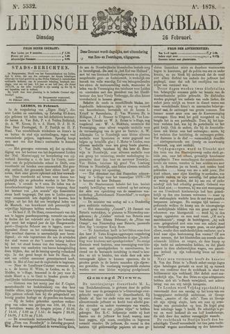 Leidsch Dagblad 1878-02-26