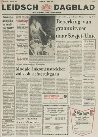 Leidsch Dagblad 1980-01-05