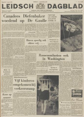 Leidsch Dagblad 1967-08-01