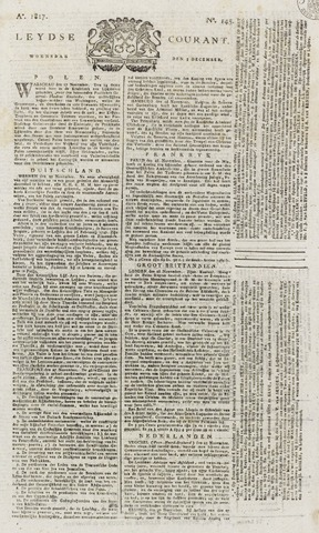 Leydse Courant 1817-12-03