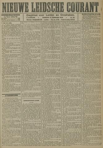Nieuwe Leidsche Courant 1923-02-27