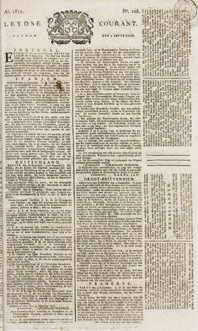 Leydse Courant 1814-09-09