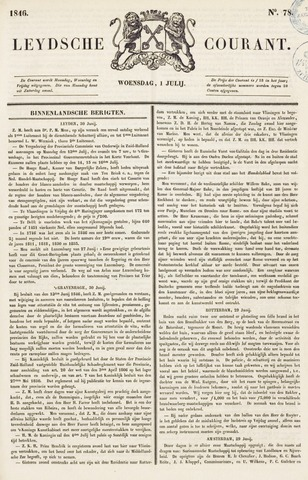 Leydse Courant 1846-07-01