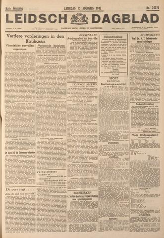 Leidsch Dagblad 1942-08-15