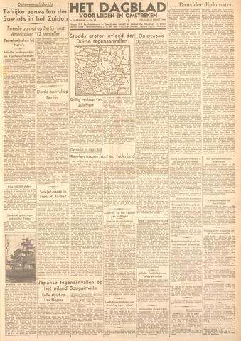 Dagblad voor Leiden en Omstreken 1944-03-10