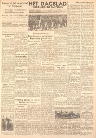 Dagblad voor Leiden en Omstreken 1944-06-12