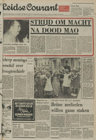 Leidse Courant 1976-09-09