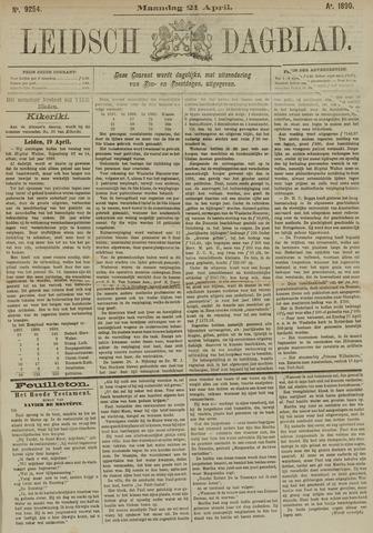 Leidsch Dagblad 1890-04-21
