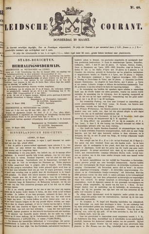 Leydse Courant 1884-03-20
