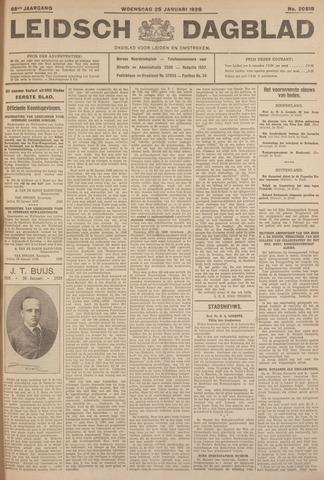 Leidsch Dagblad 1928-01-25
