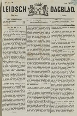 Leidsch Dagblad 1869-03-02