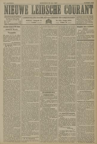 Nieuwe Leidsche Courant 1927-07-20