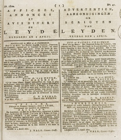 Leydse Courant 1812-04-03