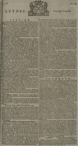 Leydse Courant 1728-10-29