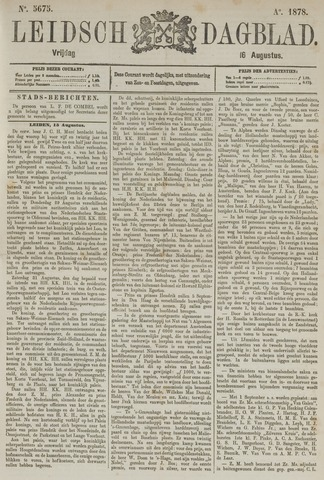 Leidsch Dagblad 1878-08-16