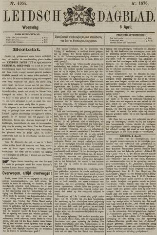 Leidsch Dagblad 1876-04-05