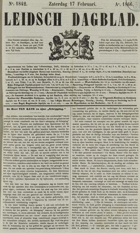 Leidsch Dagblad 1866-02-17