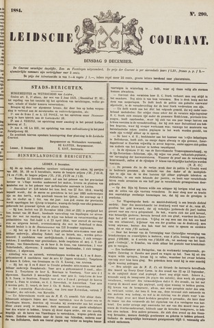 Leydse Courant 1884-12-09