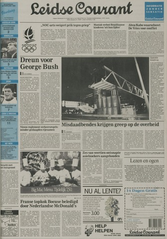 Leidse Courant 1992-02-19