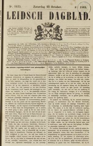 Leidsch Dagblad 1864-10-22