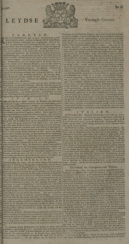 Leydse Courant 1727-05-30
