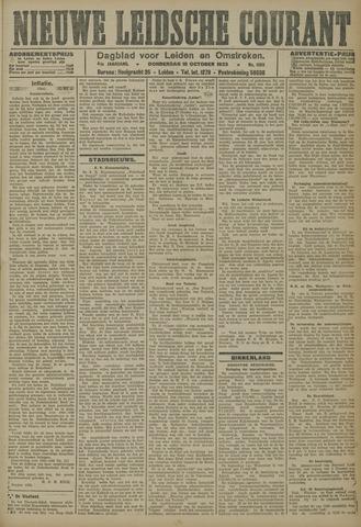 Nieuwe Leidsche Courant 1923-10-18