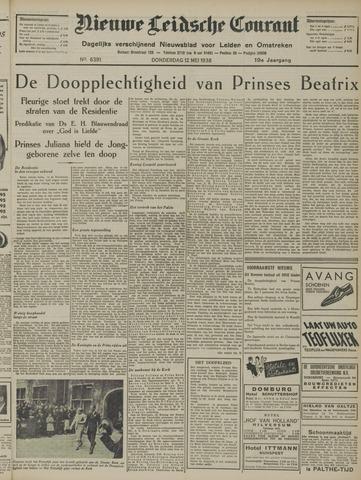 Nieuwe Leidsche Courant 1938-05-12