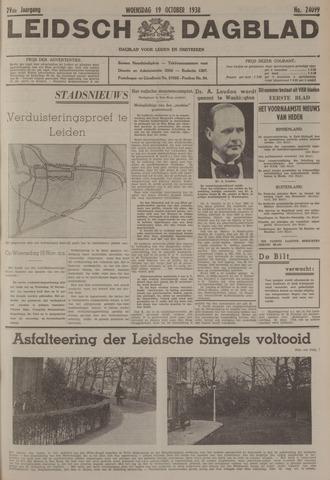 Leidsch Dagblad 1938-10-19