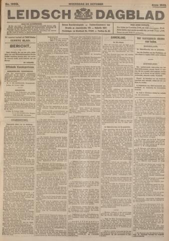 Leidsch Dagblad 1923-10-24