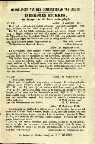 Handelingen van de Raad 1871-08-16