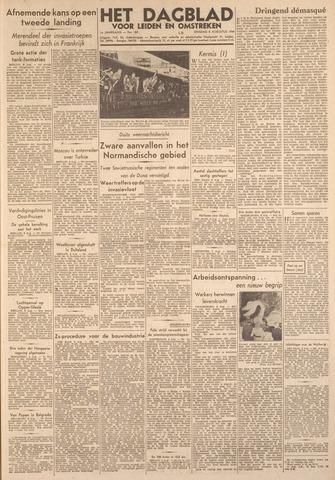Dagblad voor Leiden en Omstreken 1944-08-08