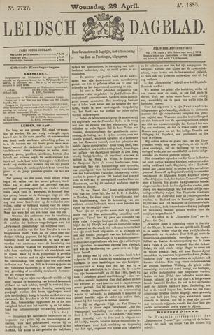 Leidsch Dagblad 1885-04-29