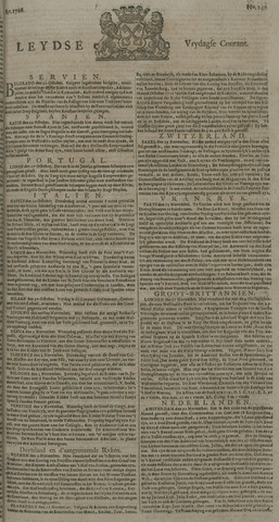 Leydse Courant 1726-11-22