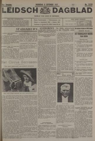 Leidsch Dagblad 1937-09-08