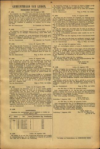 Handelingen van de Raad 1889-08-19