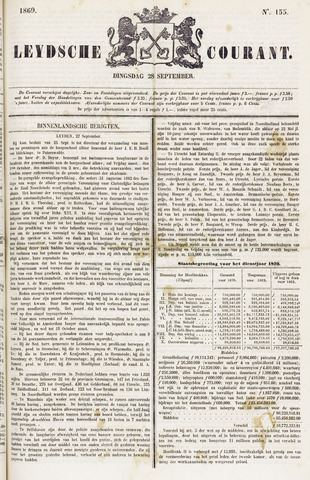 Leydse Courant 1869-09-28