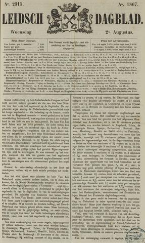 Leidsch Dagblad 1867-08-28