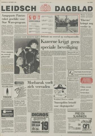 Leidsch Dagblad 1985-10-21