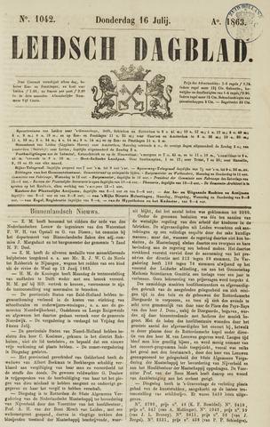 Leidsch Dagblad 1863-07-16