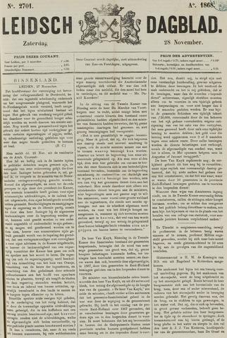 Leidsch Dagblad 1868-11-28