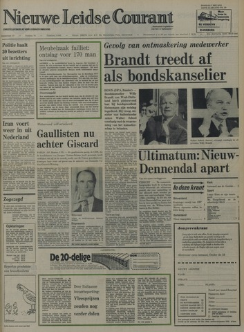 Nieuwe Leidsche Courant 1974-05-07